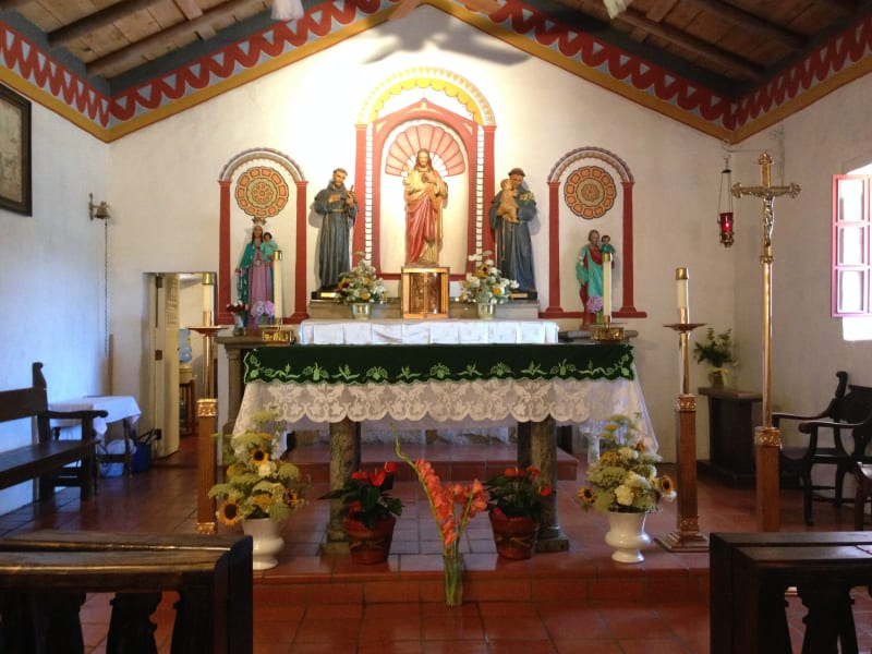 NO. 243 ASISTENCIA SAN ANTONIO DE PALA - Altar