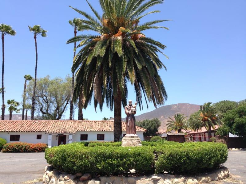 NO. 243 ASISTENCIA SAN ANTONIO DE PALA - Statue of St. Anthony