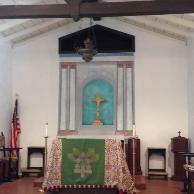 NO. 1026 SANTA MARGARITA RANCH HOUSE - Church Altar