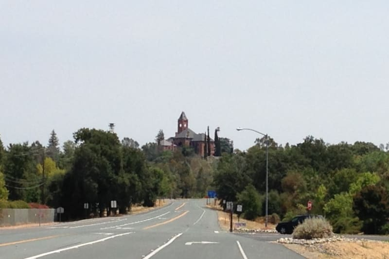 NO. 867 PRESTON CASTLE - View from State Plaque