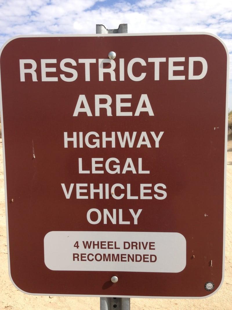 NO. 673 SAN GREGORIO -    You should pass some BLM signs.