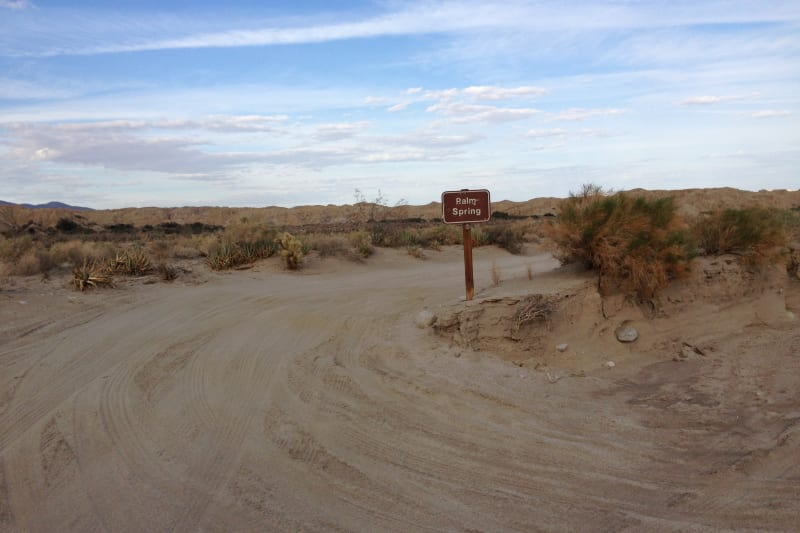 NO. 639 PALM SPRINGS  - Turn off road