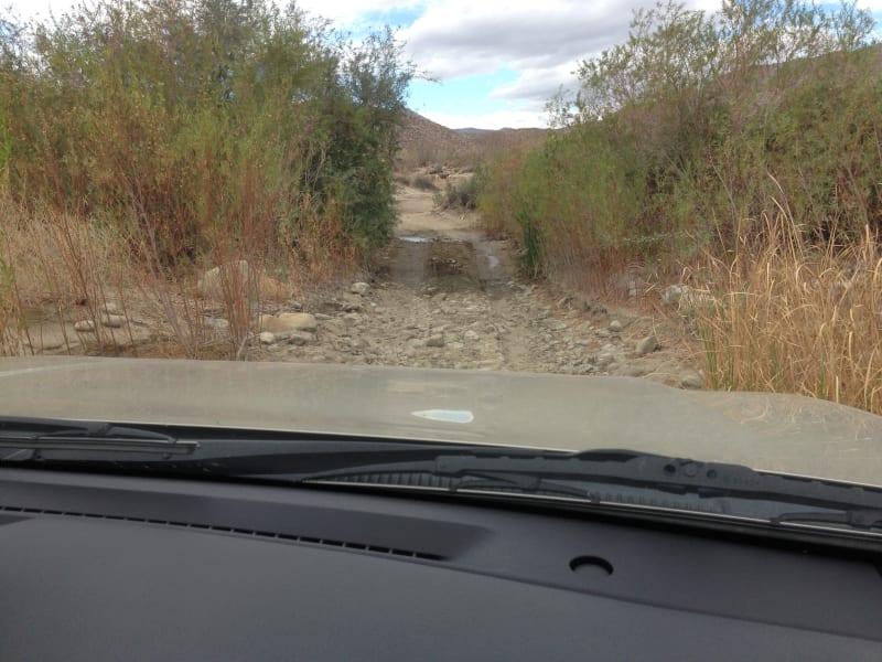 NO. 785 SANTA CATARINA - We traveled over rocks and mud...