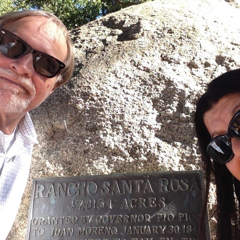 NO. 1005 SANTA ROSA RANCHO - Private Plaque