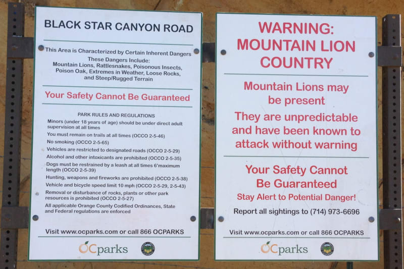 NO. 217 BLACK STAR CANYON INDIAN VILLAGE SITE - Warnings!