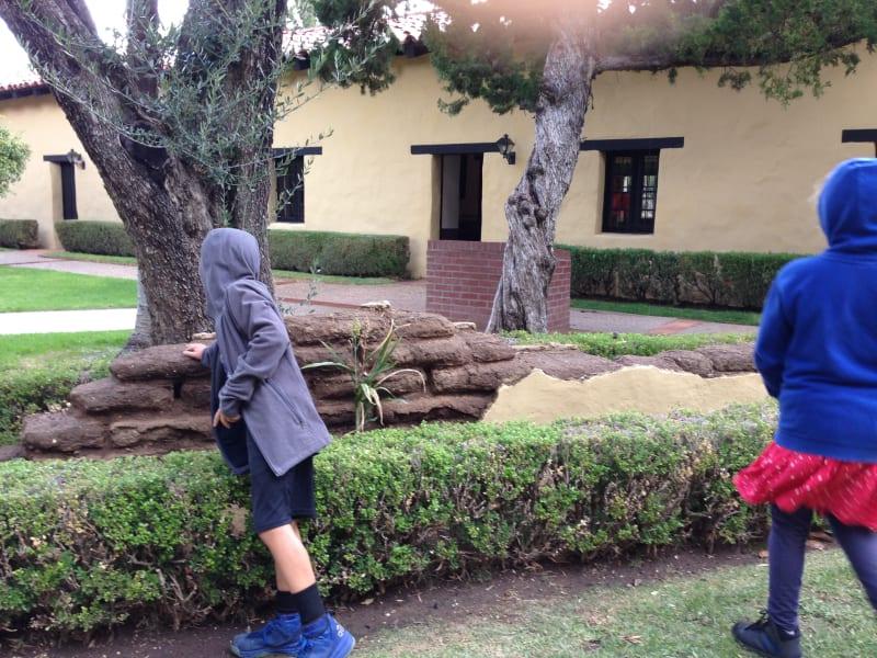 CHL #157 - Mission San Fernando Rey de España - Adobe Walls