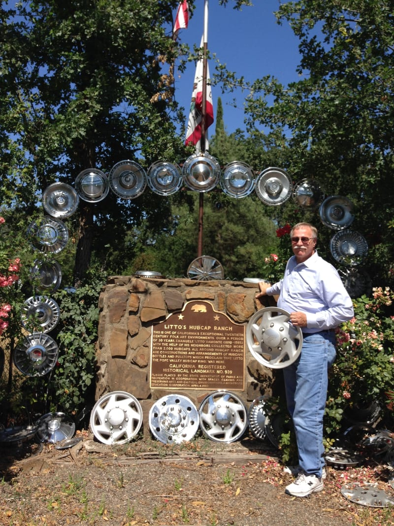 NO. 939 Litto's Hubcap Ranch- State Marker
