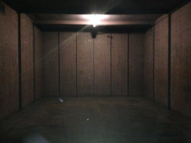 NO. 875 OLD UNITED STATES MINT – Empty vault