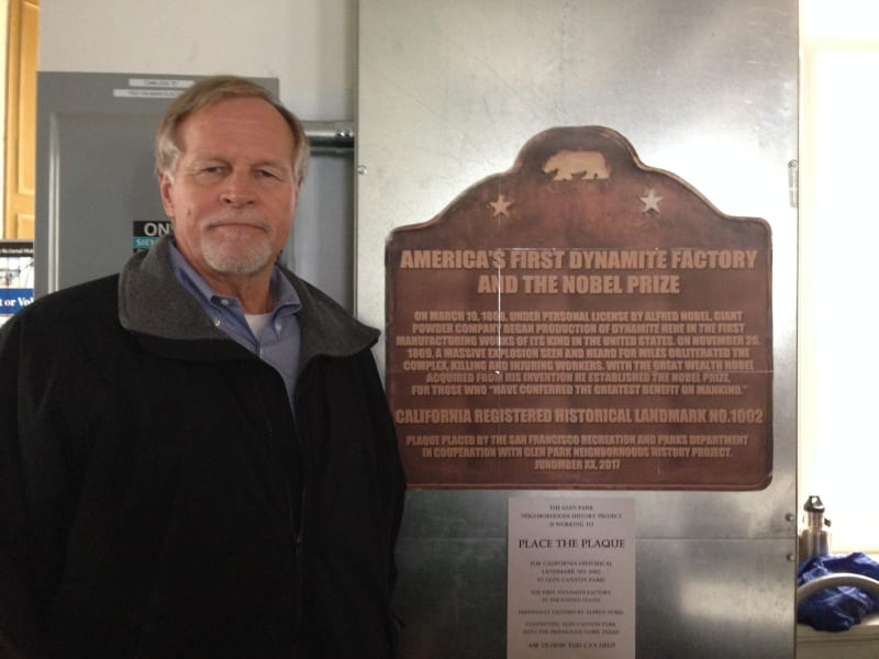 The Glen Park Neighborhood is raising money to purchase and install a State Plaque