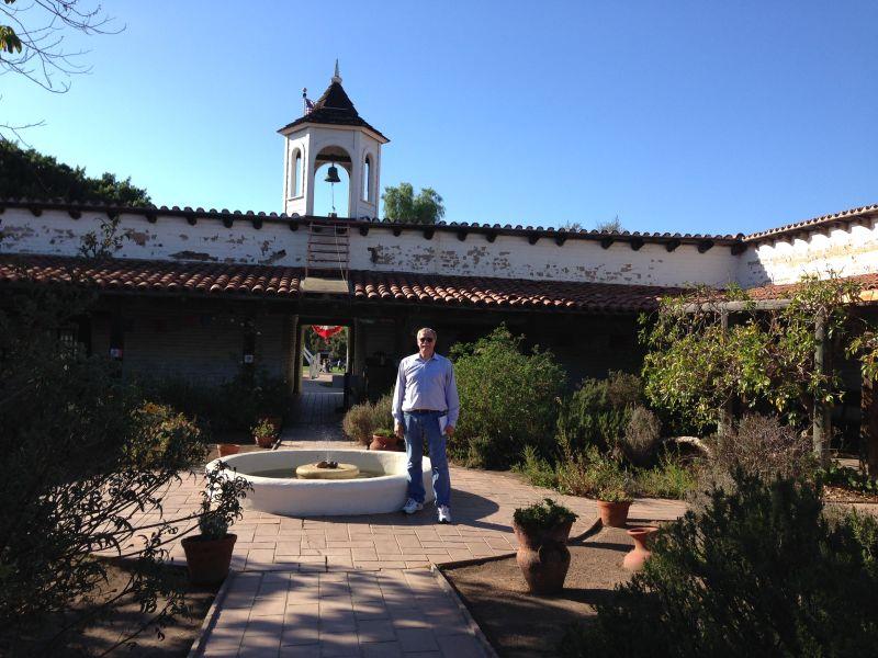 CHL #53  Casa de Estudillo Courtyard
