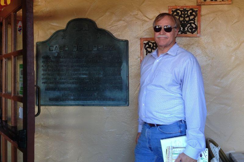 CHL #60  Casa de Lopez State Plaque