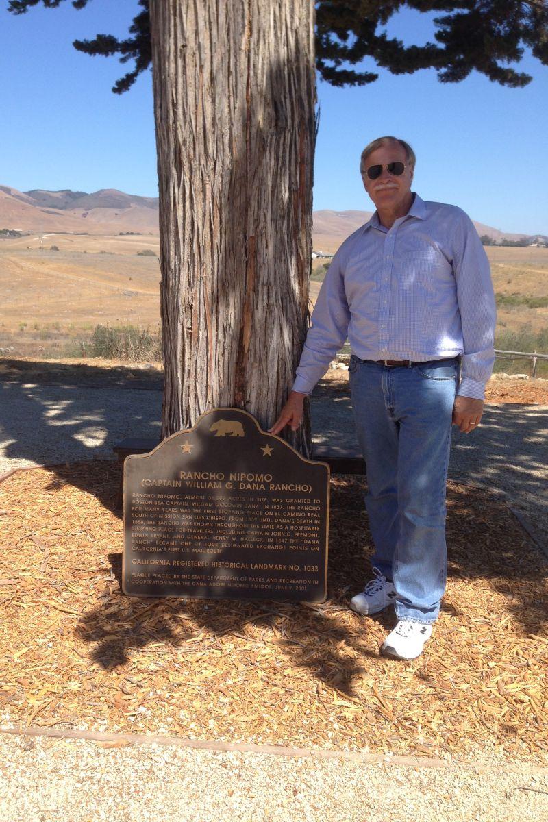CHL #1033  Rancho Nipomo Marker