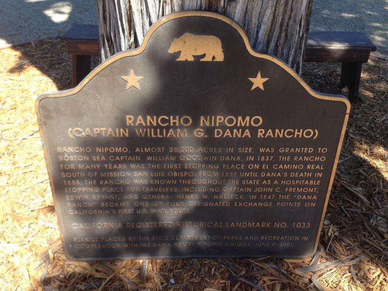 CHL #1033  Rancho Nipomo State Park