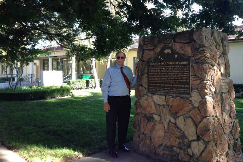CHL #1016  Stockton Developmental Center Marker