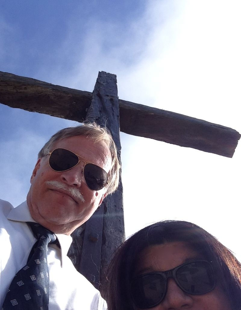 CHL #113 - Junípero Serra's Cross