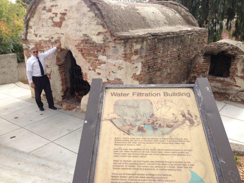CHL #114  Old Mission Reservoir, Water Filtration Building