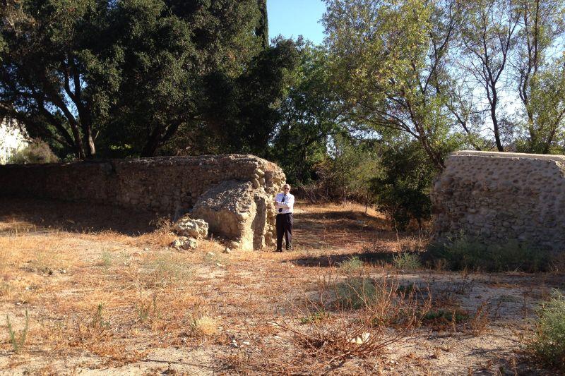 CHL #114.1  San Buenaventura Mission Aqueduct Remains
