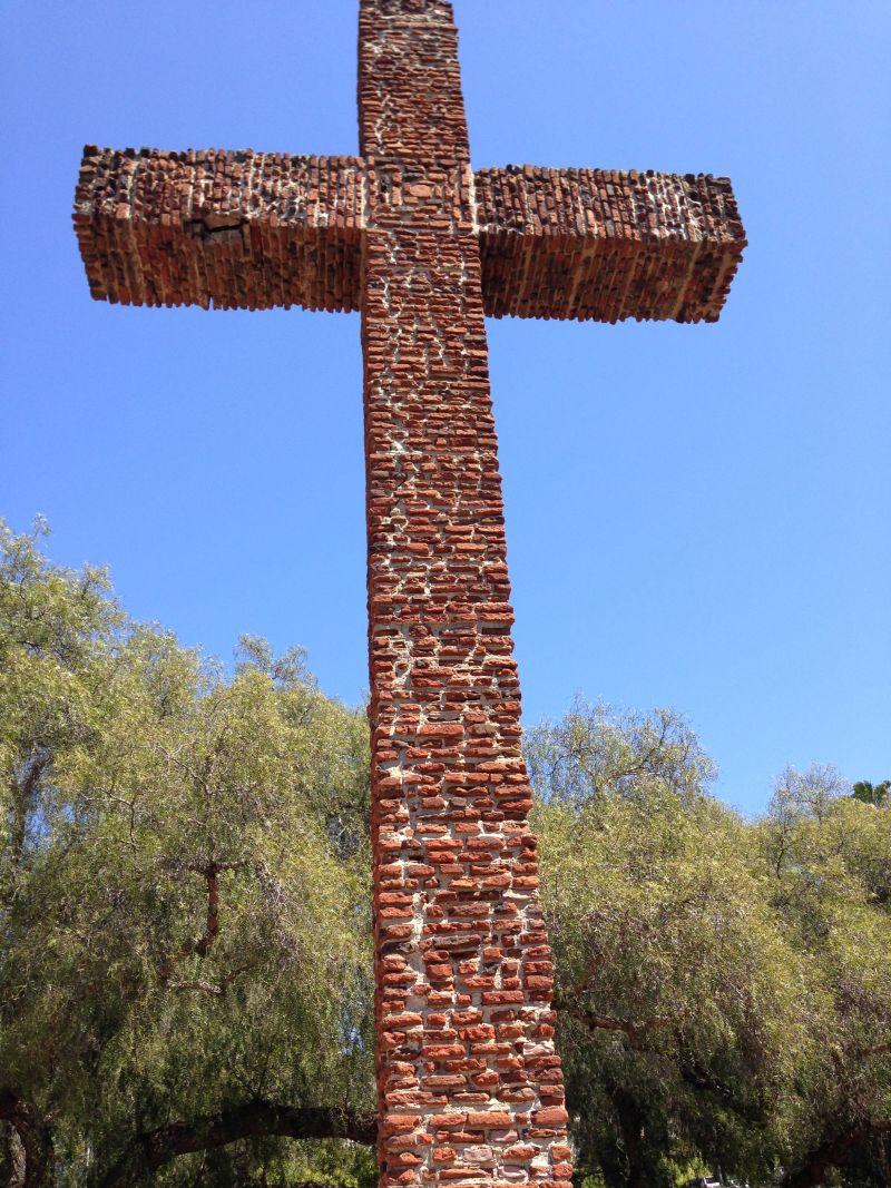 CHL #59 San Diego Presidio Site, Serra Cross