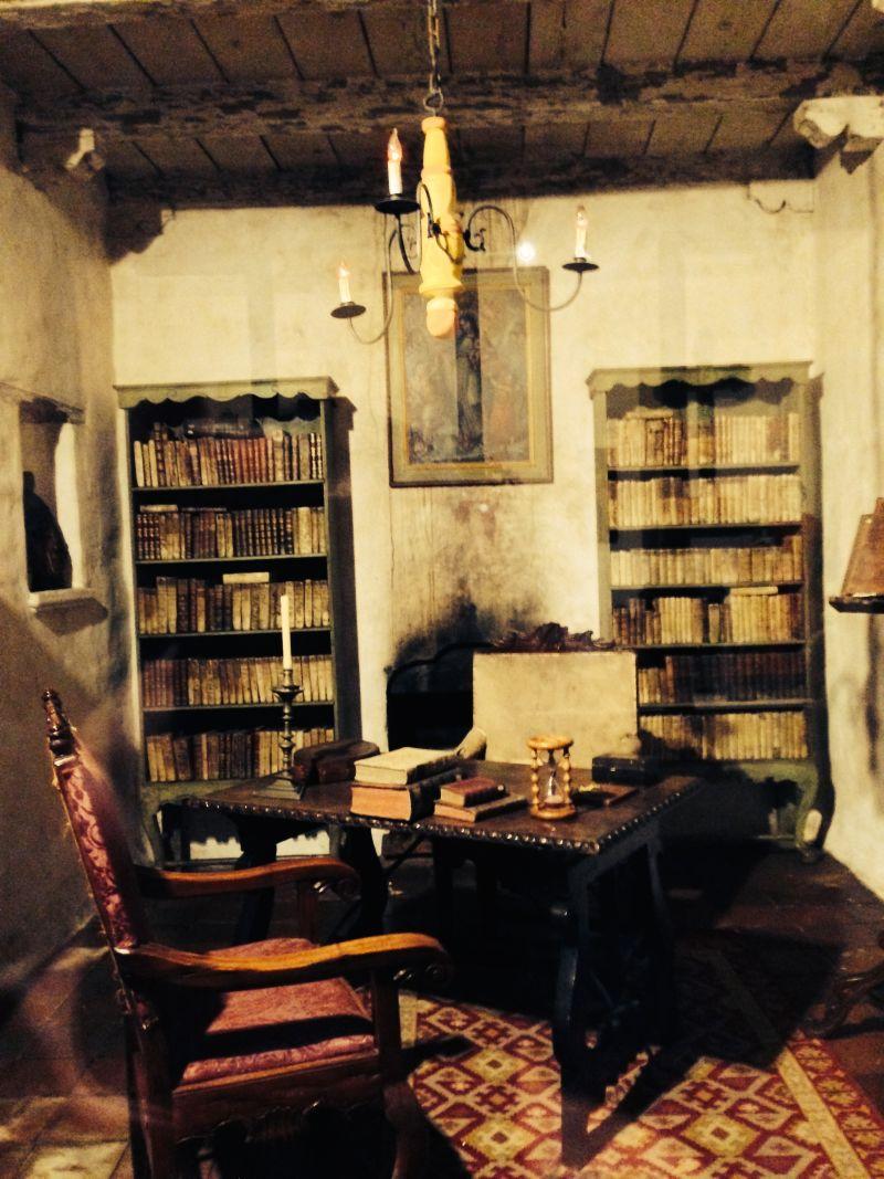 CHL #135  Mission San Carlos Borromeo de Carmelo, First Library