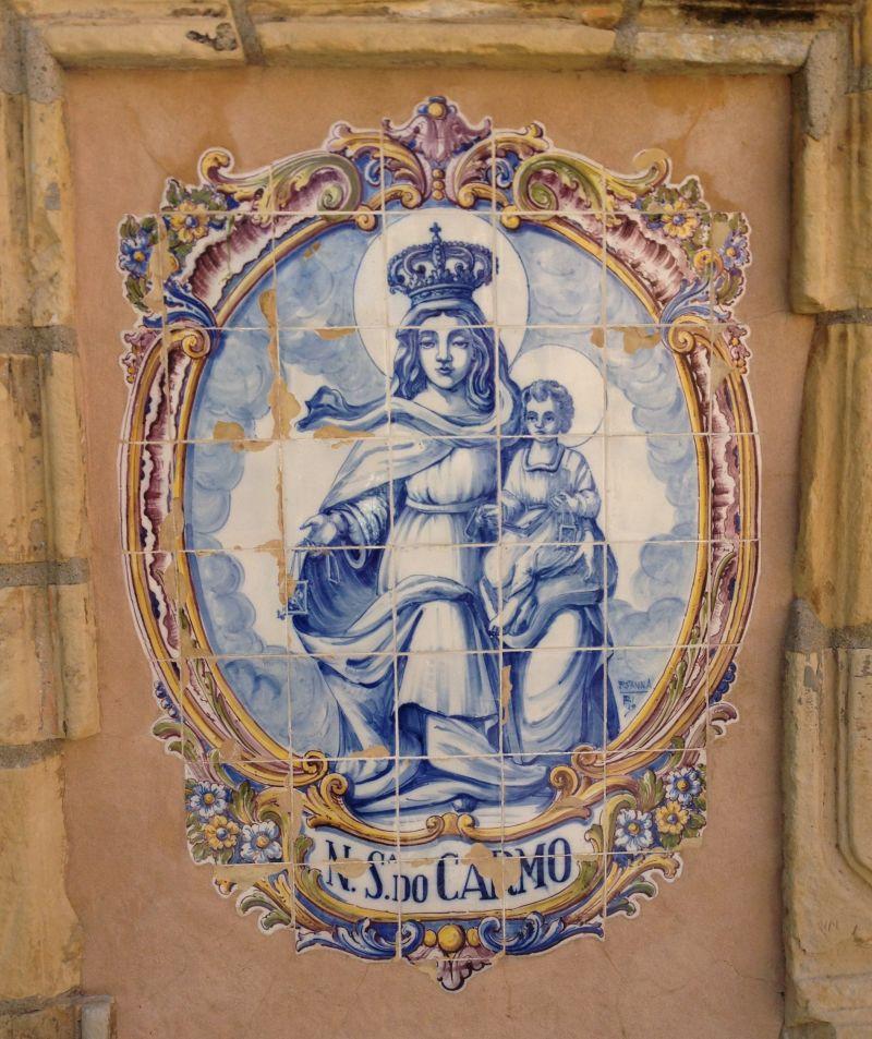 CHL #135  Mission San Carlos Borromeo de Carmelo, Our Lady of Mount Carmel
