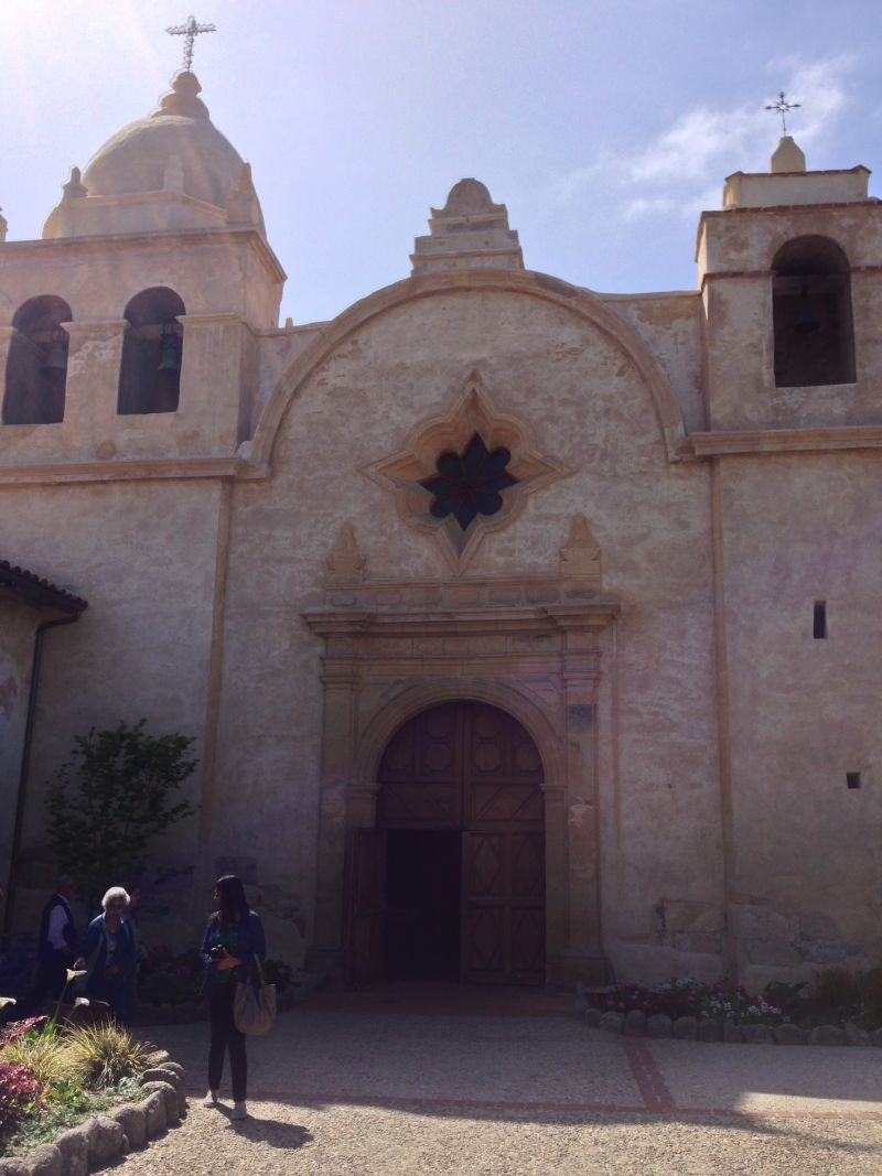 Mission San Carlos Borromeo de Carmelo-- Exterior