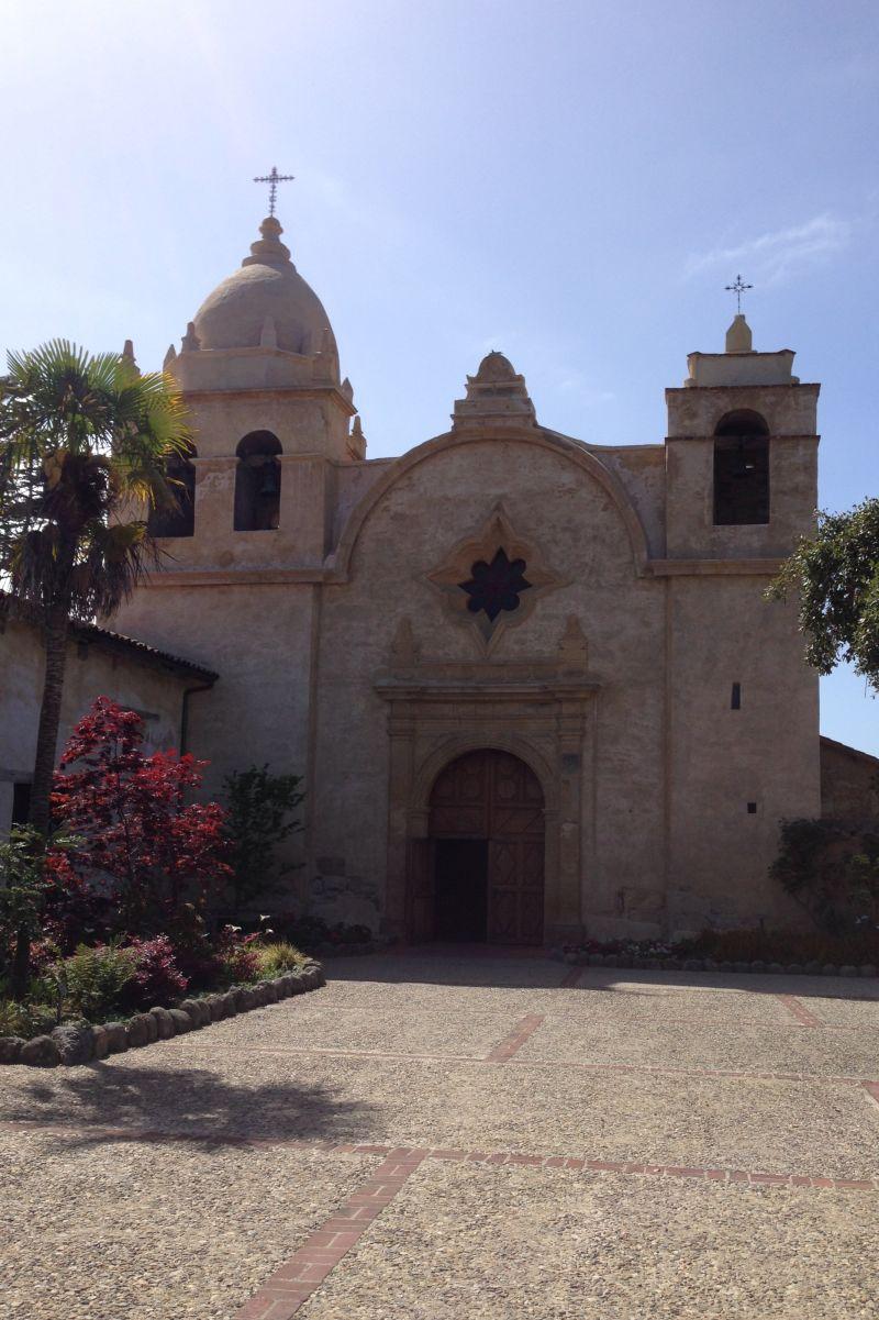 CHL #135  Mission San Carlos Borromeo de Carmelo, Front