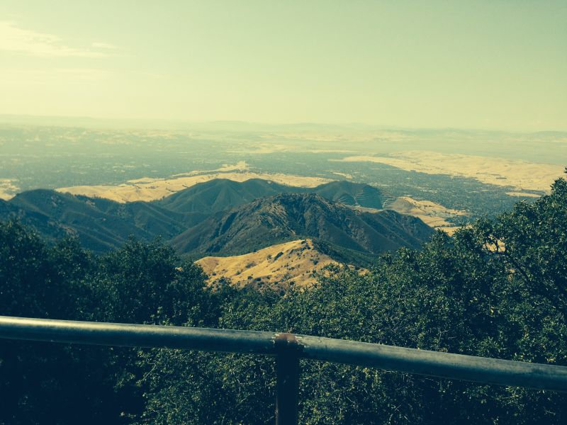 View from  CHL 905 - Mount Diablo