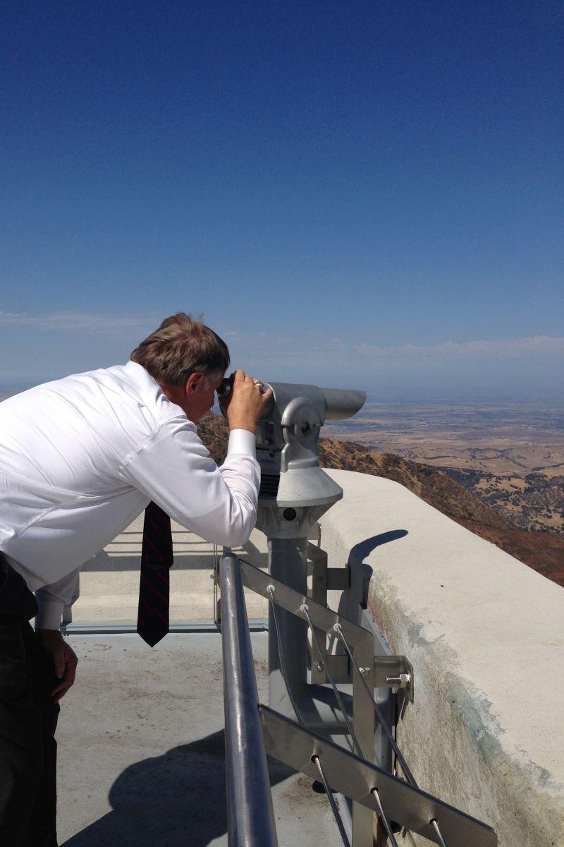 CHL #905  Mount Diablo Obervation Deck