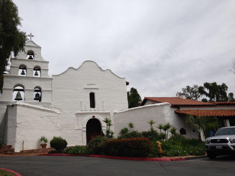 CHL #242 - Mission San Diego de Alcala