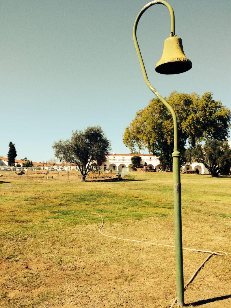 El Camino Real Bell        CHL #239 - Mission San Luís Rey de Francia