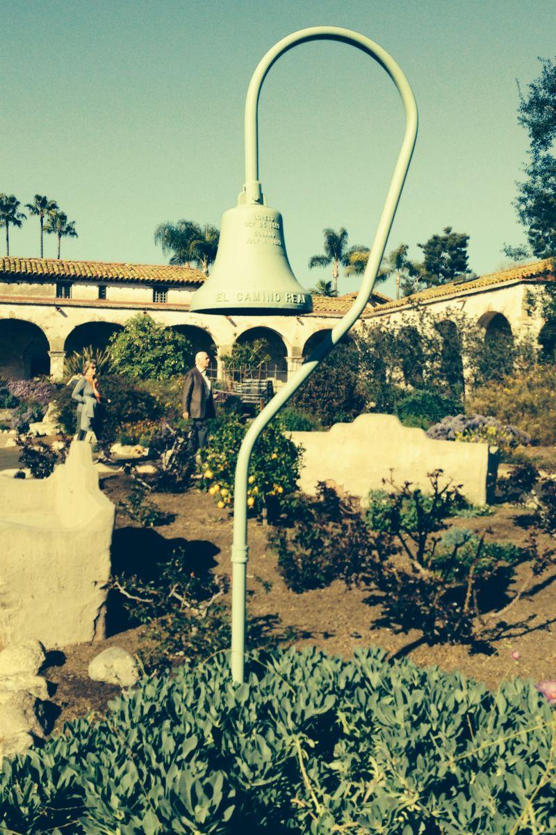 CHL #200 - Mission San Juan Capistrano-- El Camino Real Bell