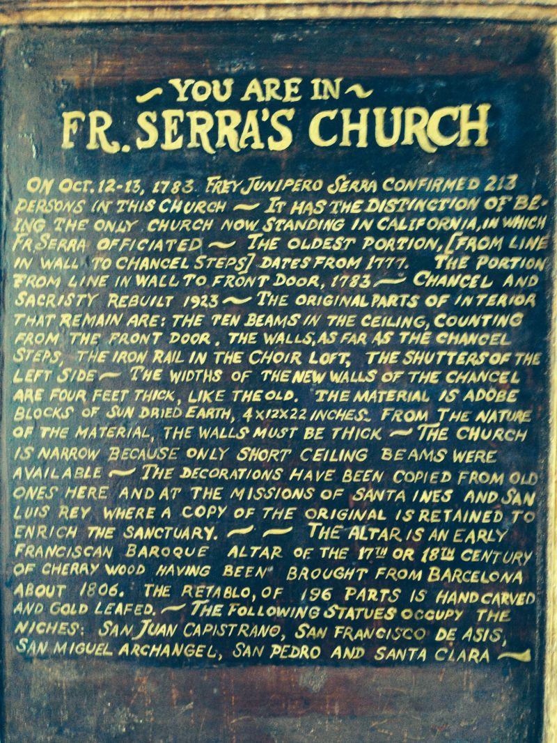 Fr. Serra's Church
