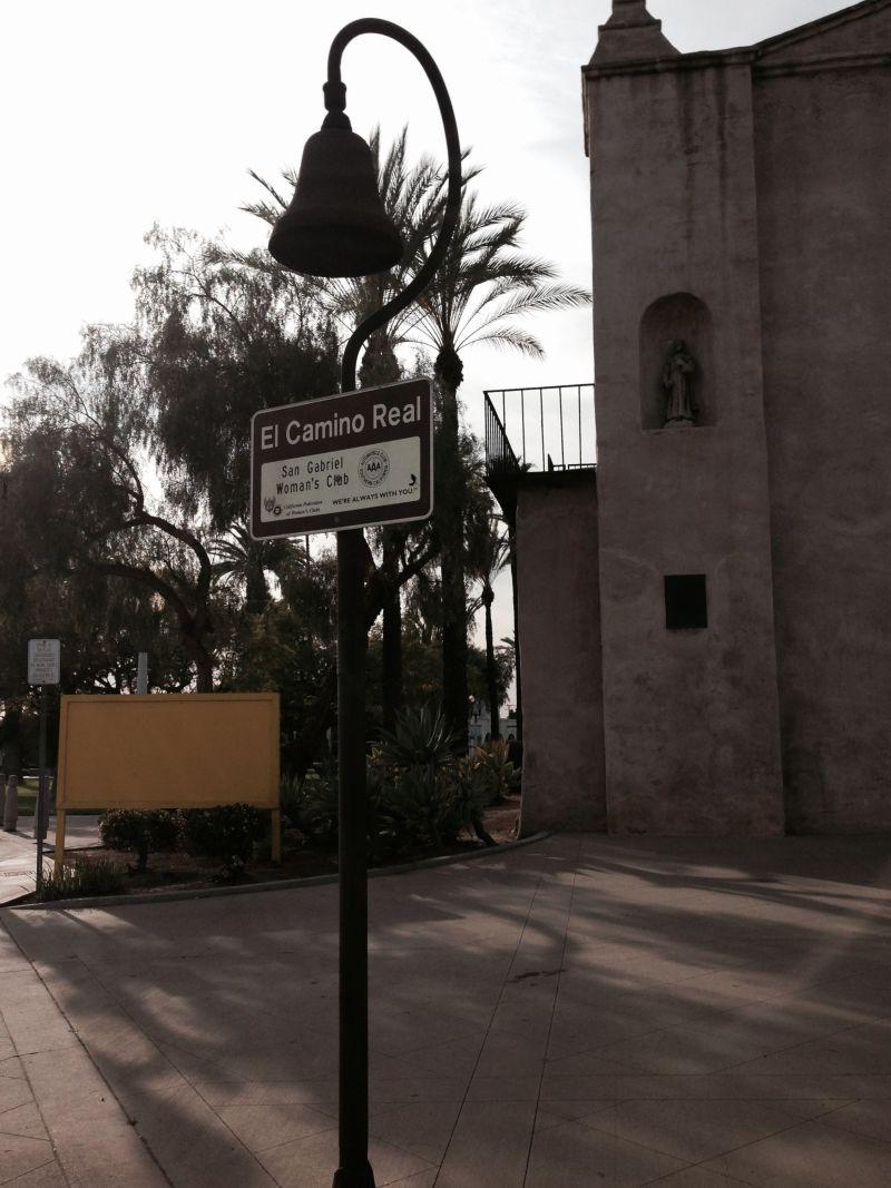 CHL #158 Mission San Gabriel Arcángel El Camino Real Bell