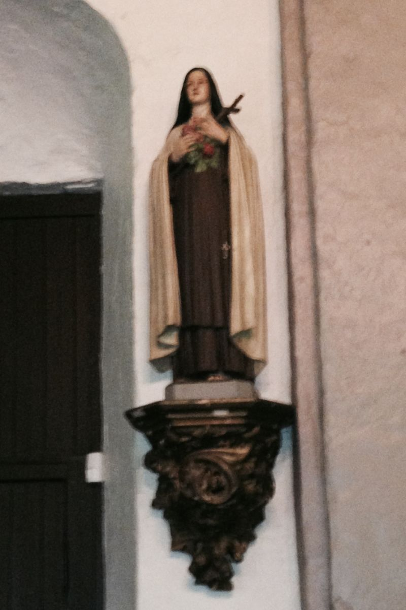 CHL #158 Mission San Gabriel Arcángel - St. Therese