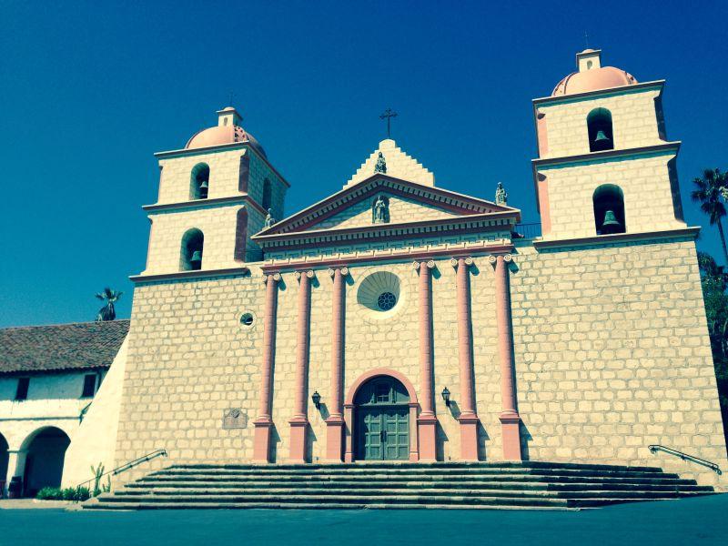 CHL #309:  Mission Santa Barbara