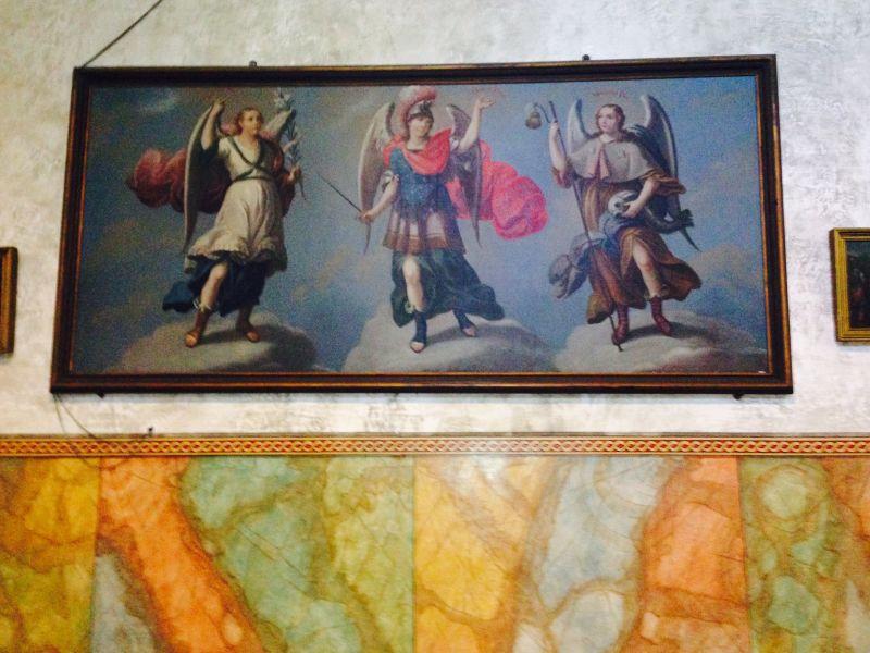 Archangels: St. Gabriel, St. Michael, St. Raphael