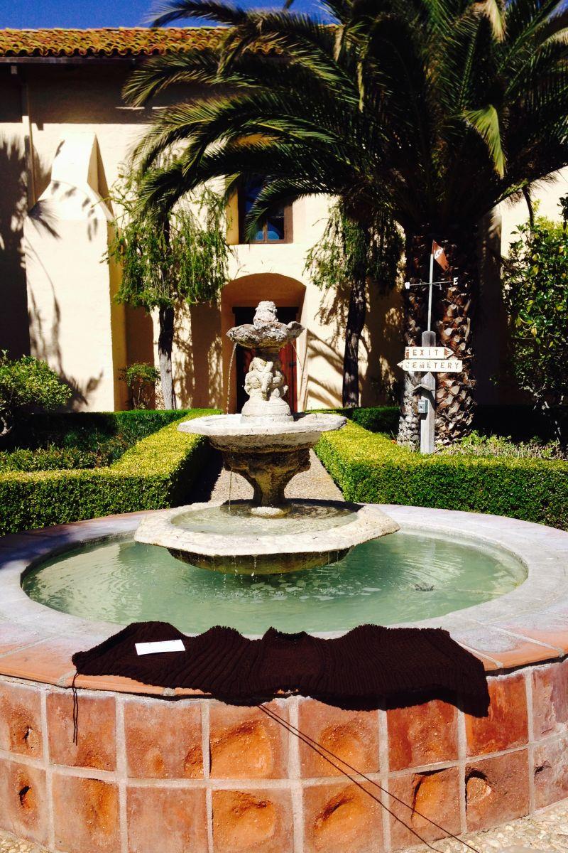 CHL #305 Mission Santa Inés Fountain