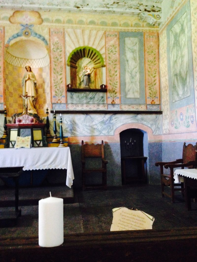 CHL #340 Mission La Purísima-- Church