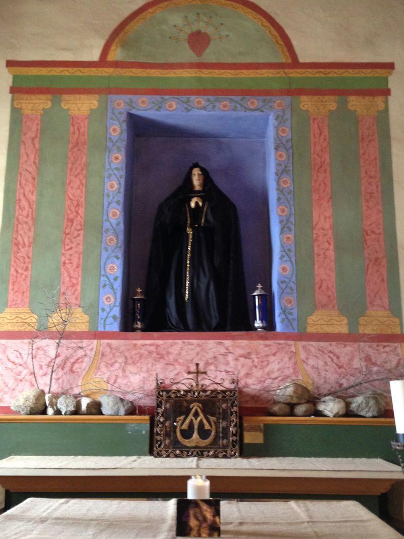 CHL No. 233  Mission Nuestra Señora de la Soledad -- Front Altar