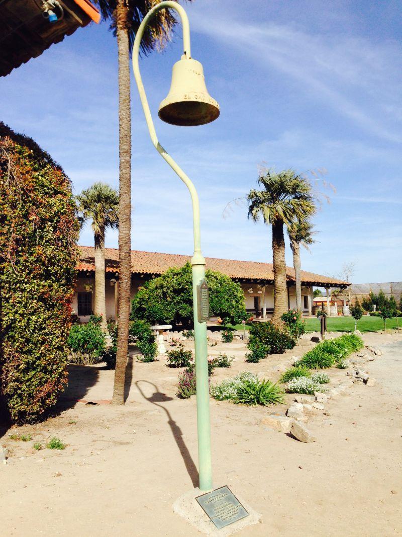 CHL #233 - Mission Nuestra Señora de la Soledad --  El Camino Real Bell