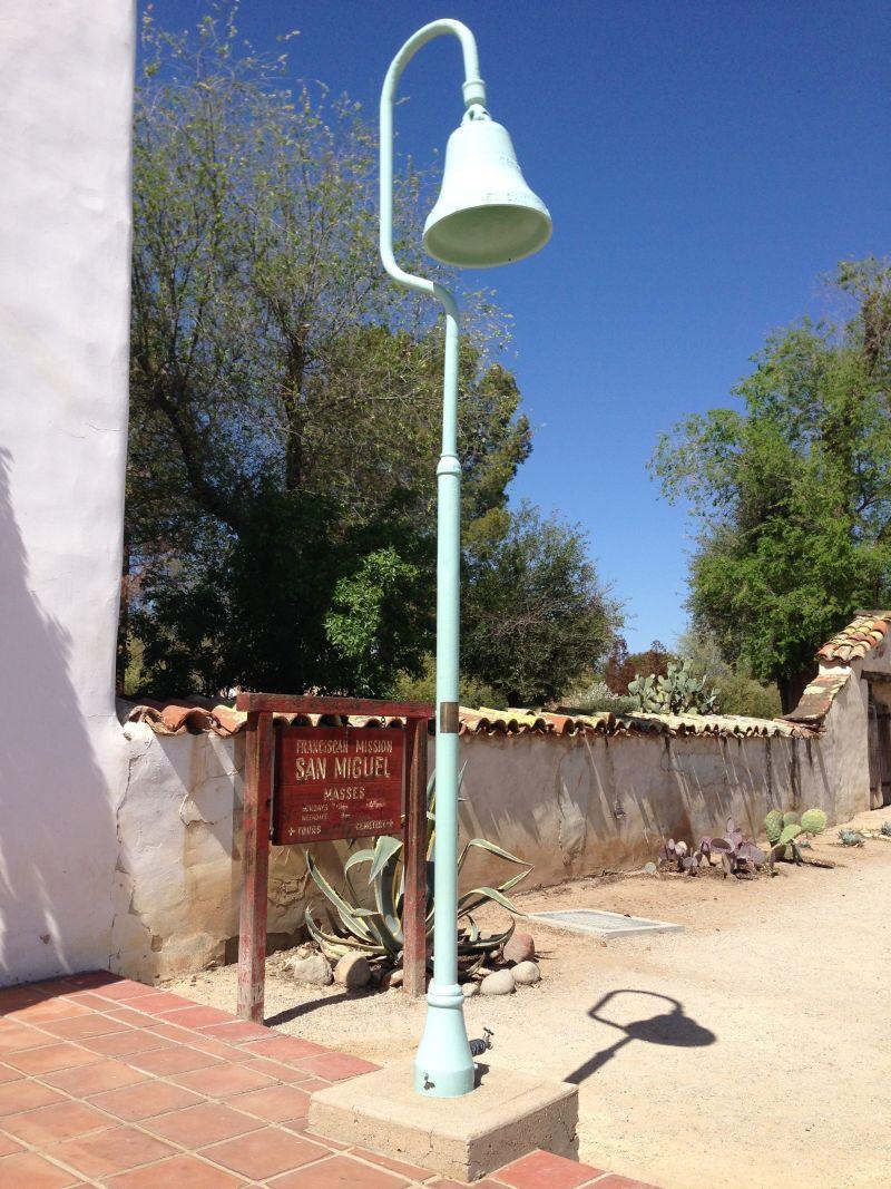 CHL #326 Mission San Miguel Arcángel --   El Camino Real Bell