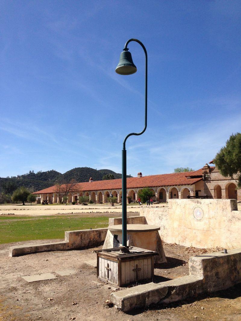 CHL #232 - Mission San Antonio de Padua --El Camino Real Bell