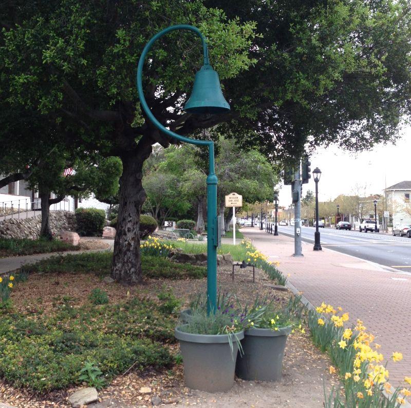 CHL #334 - Mission San Jose- El Camino Real Bell