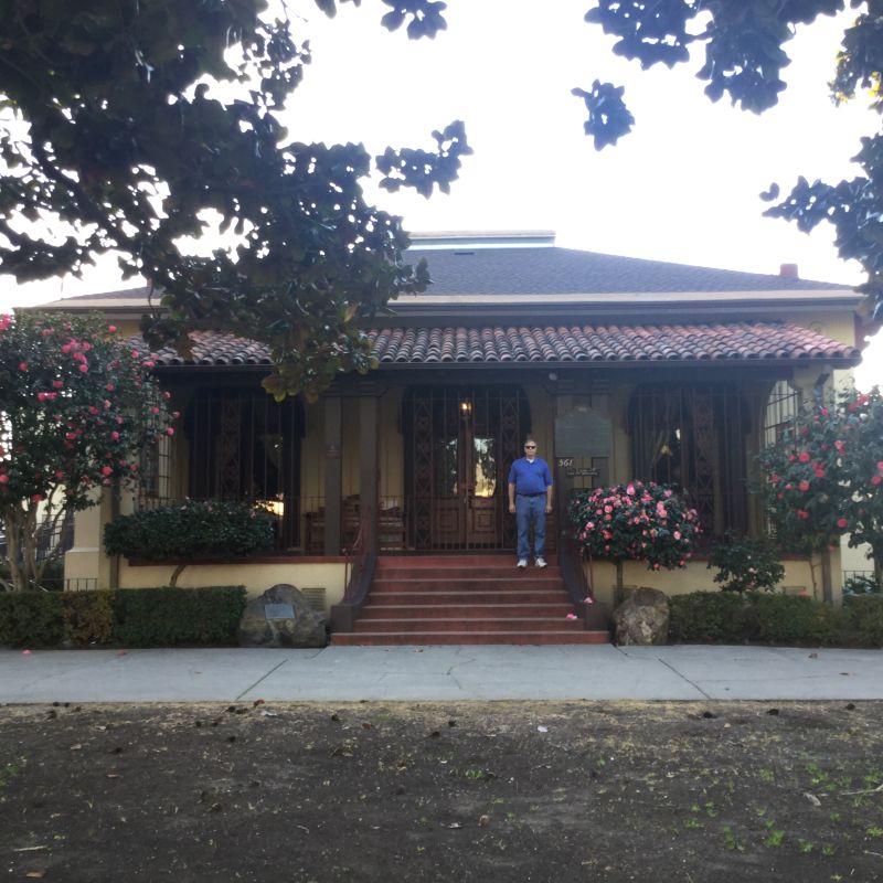 CHL #285  Peralta (Ygnacio) House- Exterior
