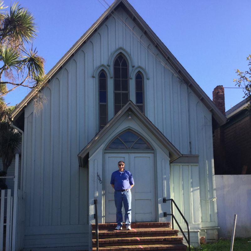 CHL #694 - Church of St. James the Apostle- Original Church