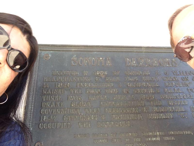 CHL #316 PRESIDIO OF SONOMA (SONOMA BARRACKS)- Private Plaque