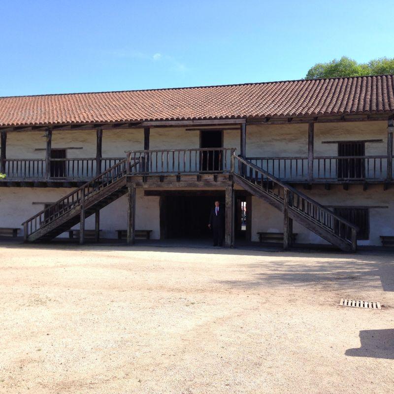 CHL NO. 316 PRESIDIO OF SONOMA (SONOMA BARRACKS)- yard
