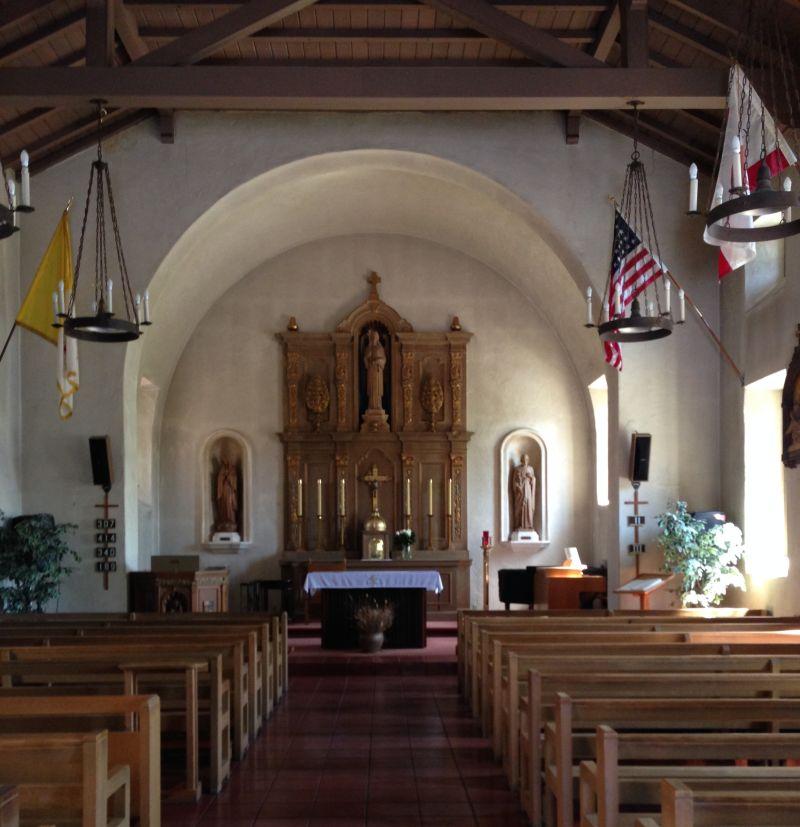 CHL #220 Mission San Rafael Arcangel- Interior