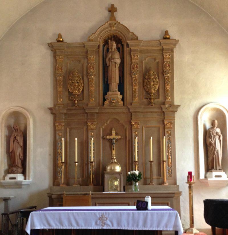 CHL #220 - Mission San Rafael Arcangel-Altar