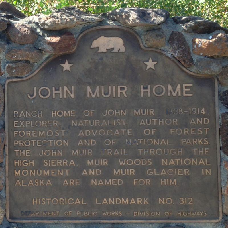 CHL #312 - John Muir National Historic Site Stat